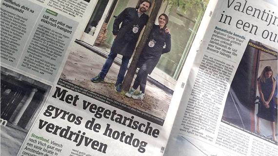 METRO – Met vegetarische gyros de vette hotdog verdrijven
