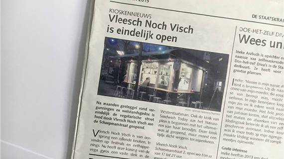 Staatskrant – Opening Kiosk